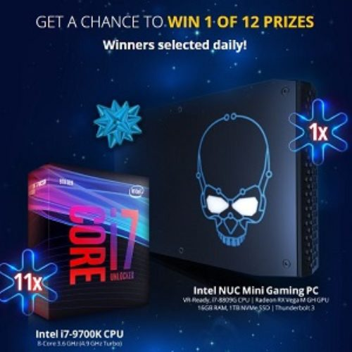 Win a Mini Gaming PC from Newegg