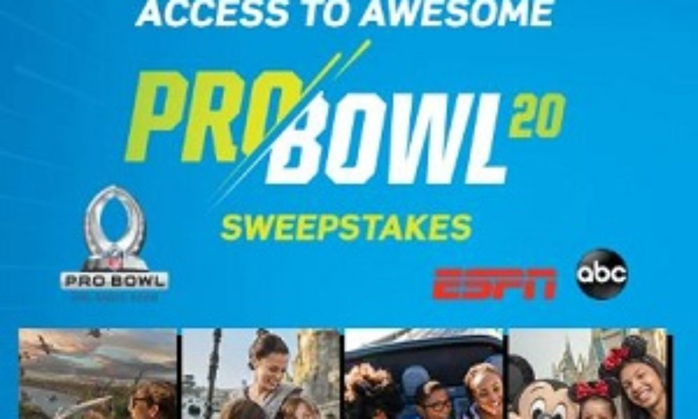 Win a Trip to the NFL Pro Bowl from Disney