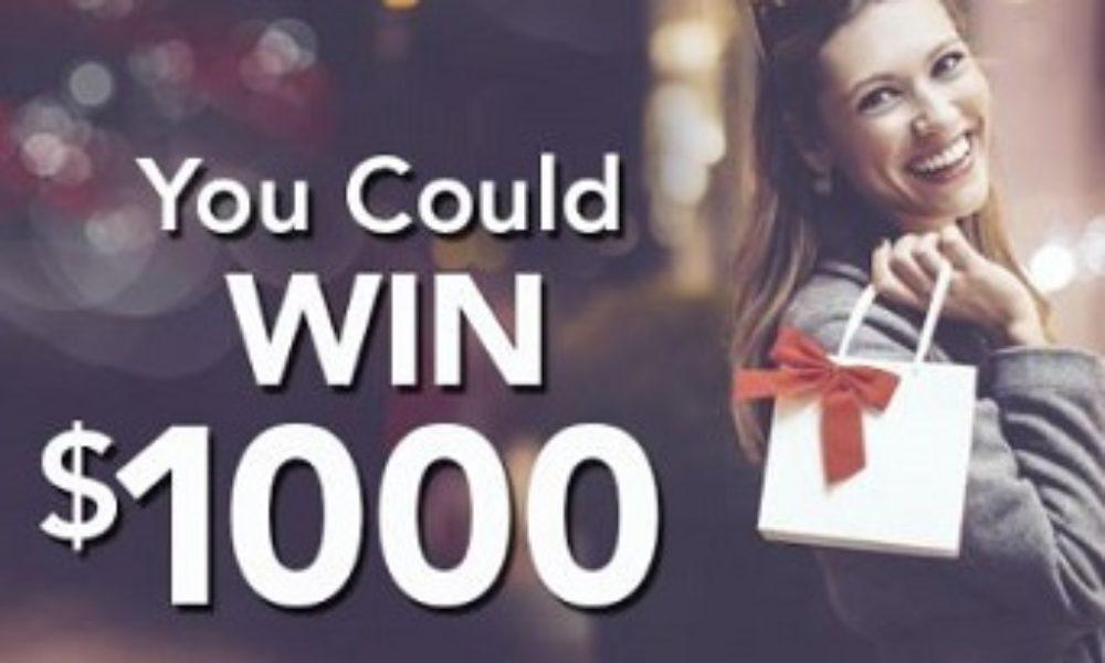 Win 1 of 93 $1,000 VISA Gift Cards