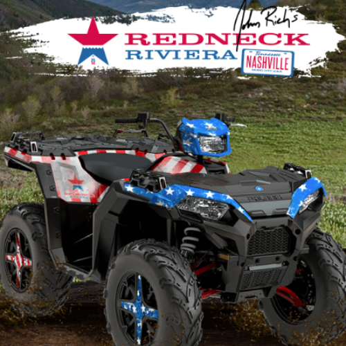 Win a Polaris ATV from Redneck Riviera