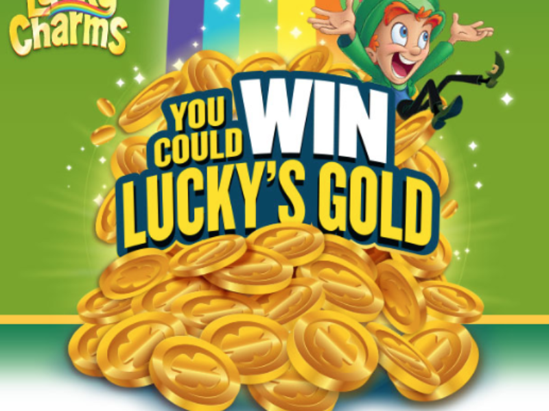 Win a VISA Gift Card from Lucky Charms
