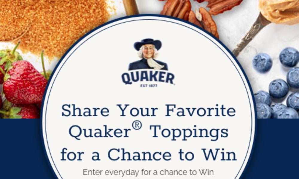 Win a Spa Getaway from Quaker