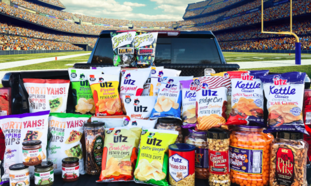 Win an Utz Big Game Tailgate Pack