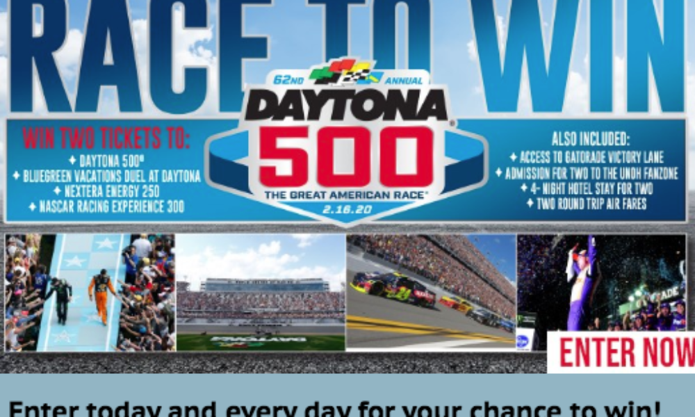 Win a Trip to the Daytona 500