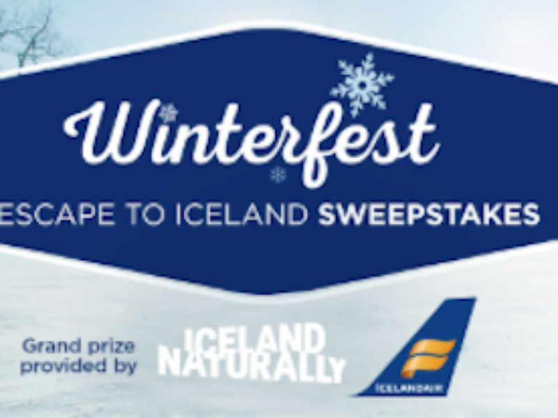 Win a Trip to Reykjavik, Iceland from Hallmark Channel