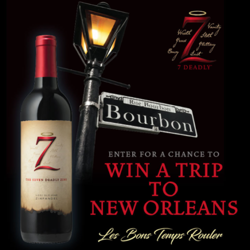 Win a Trip to New Orleans from 7 Deadly Wines
