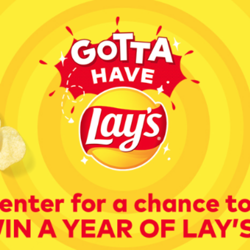 Win a Year of Lay's Potato Chips
