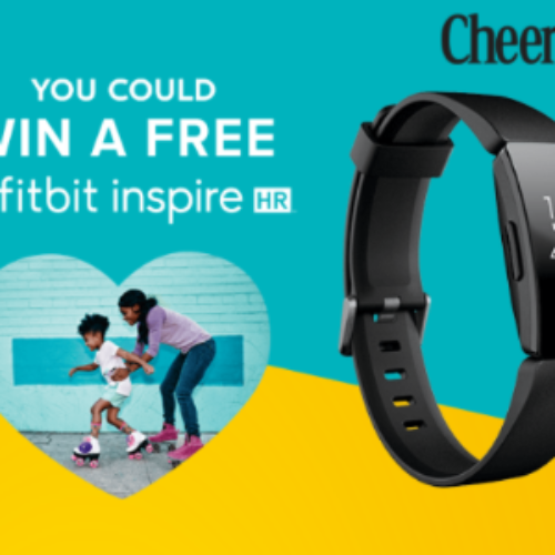 Win 1 of 9,000+ Fitbit Inspire HR's from General Mills
