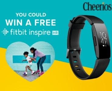 Win a Fitbit Inspire HR