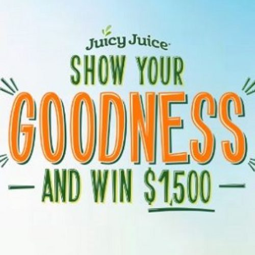Win 1 of 10 $1,500 Cash Prizes from Juicy Juice