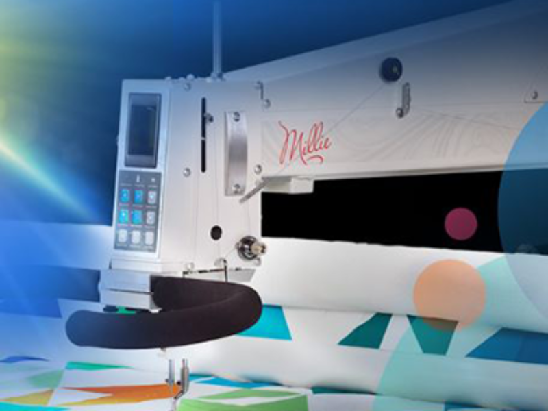 Win a Millie Quilting Machine Valued Over $19K