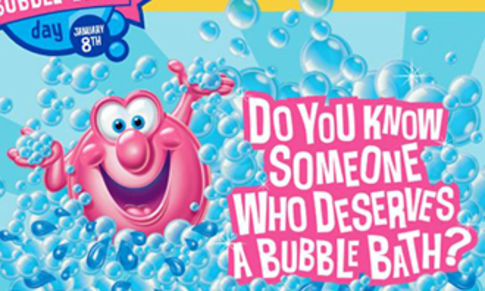 Win a Year's Supply of Bubble Bath