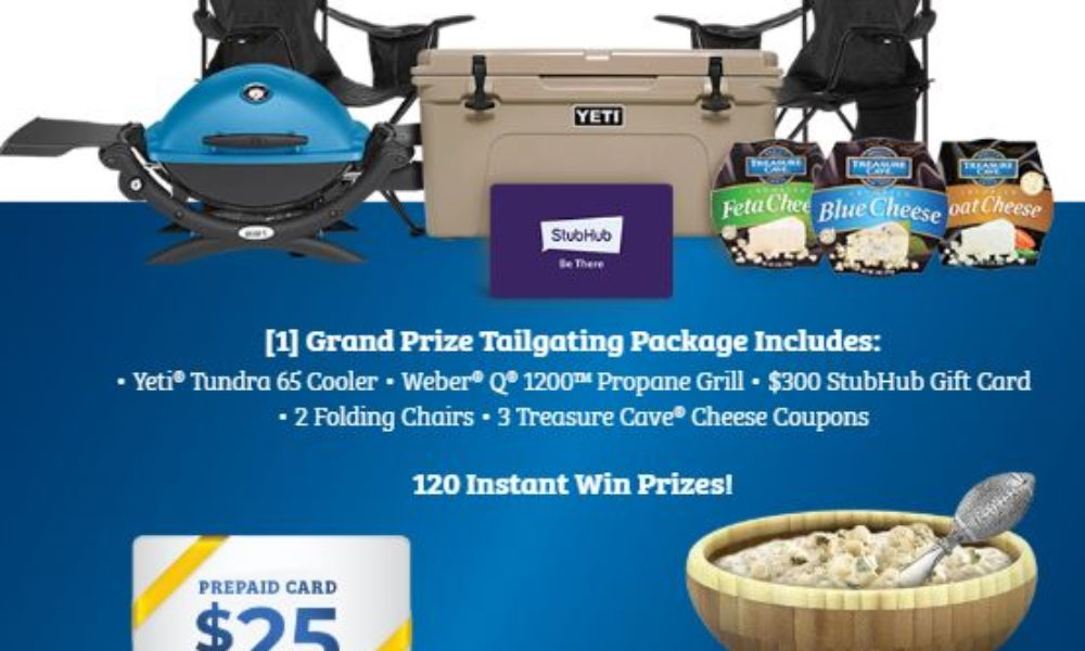 Win A Tailgating Prize Package From Treasure Cave Granny S Giveaways