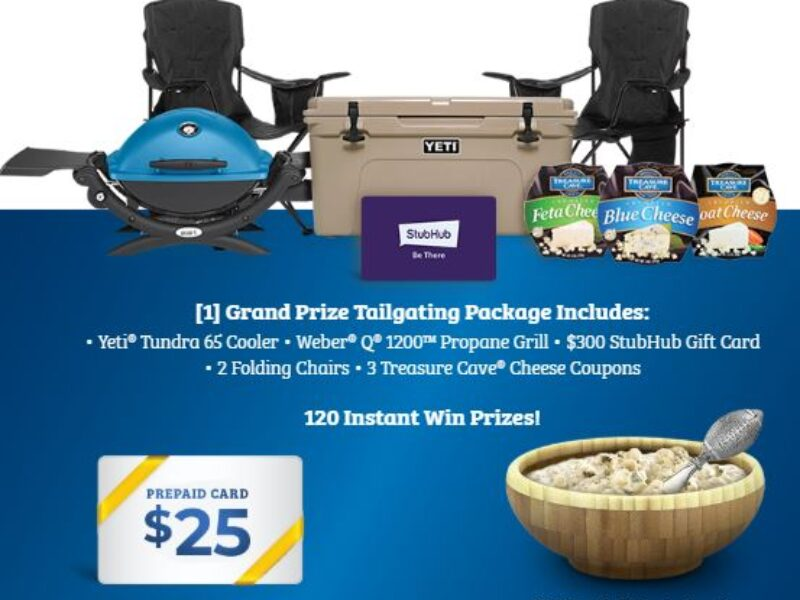 Win a Tailgating Prize Package from Treasure Cave