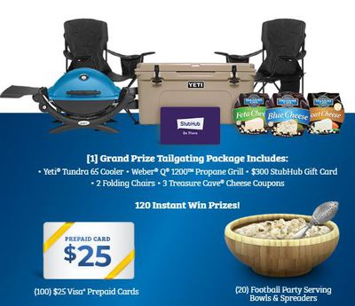 Win a Tailgating Prize Package