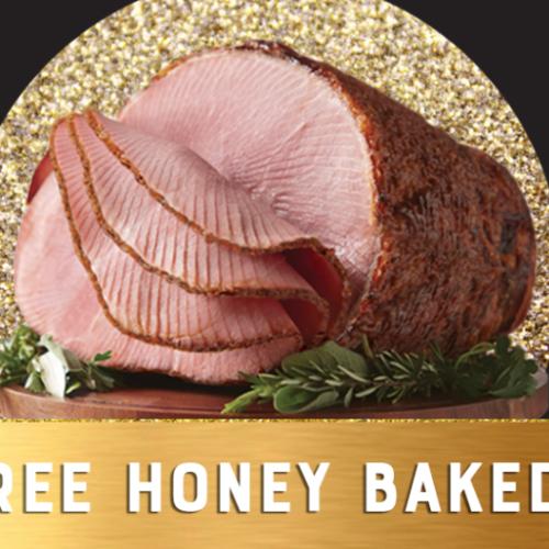 Win 1 of 100 Honey Baked Hams