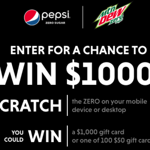 Win a $1K VISA Gift Card from Pepsi
