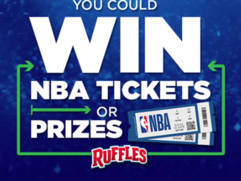 Win NBA Tickets or Prizes from Ruffles