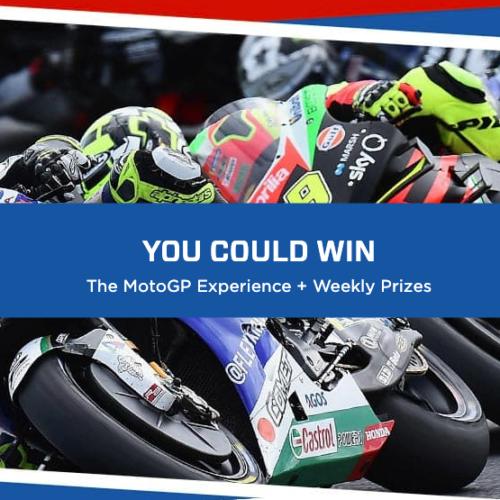Win a MotoGP Experience