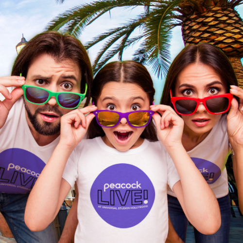 Win a Trip to Peacock Live! at Universal Studios Hollywood