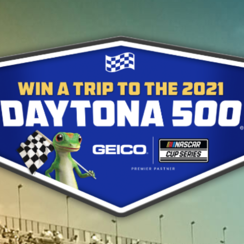 Win a Trip to the 2021 Daytona 500 from GEICO