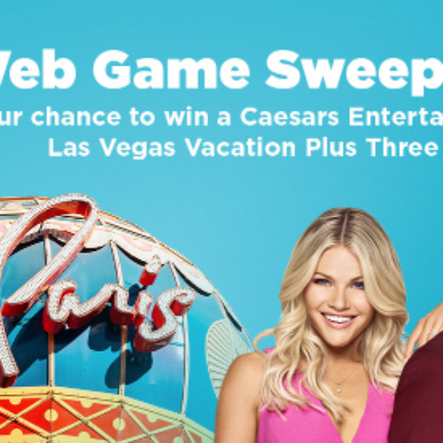 Win a Caesars Deluxe Vegas Vacation + $500