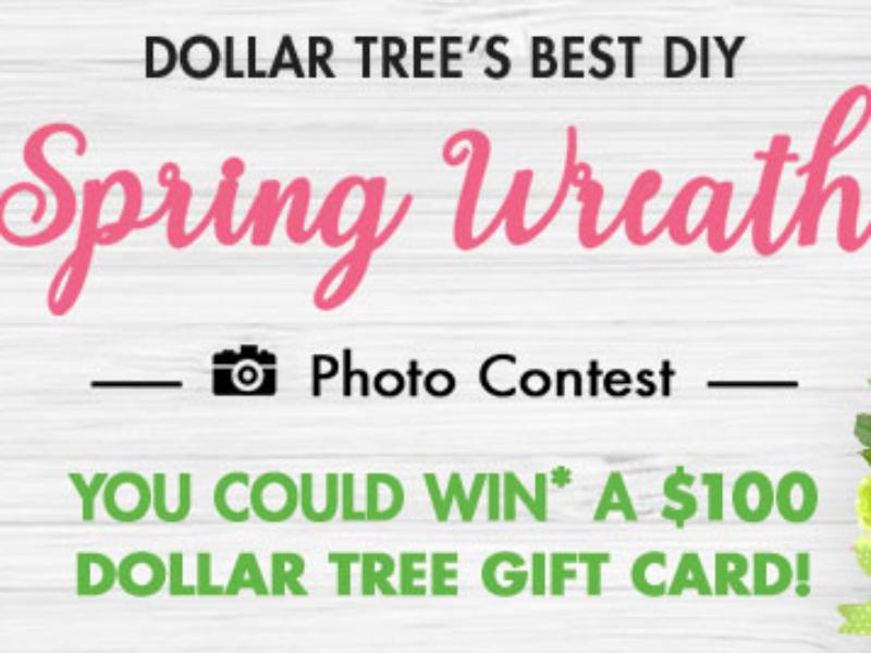 Win a Dollar Tree Shopping Spree