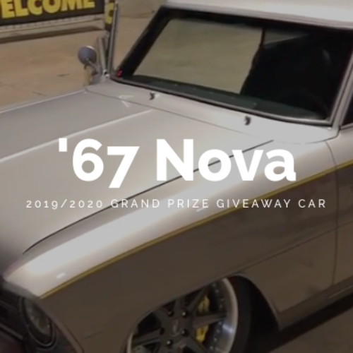 Win a '67 Chevy Nova from Goodguys