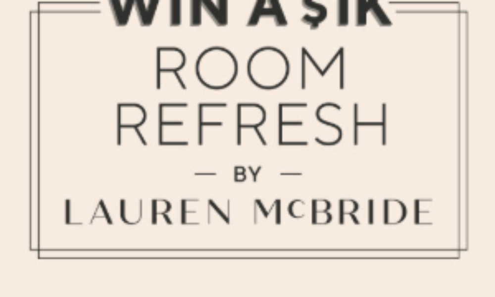 Win a $1K Room Refresh from QVC