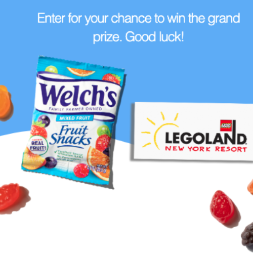 Win a Trip to LEGOLAND New York from Welch's