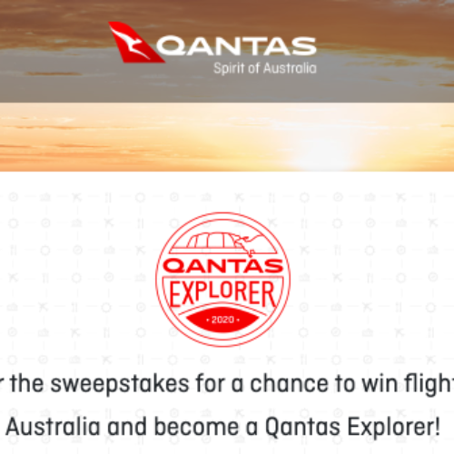 Win a Trip to Australia from Qantas