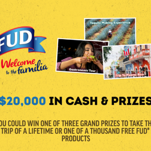 Win Part of $20K in Cash & Prizes from FUD