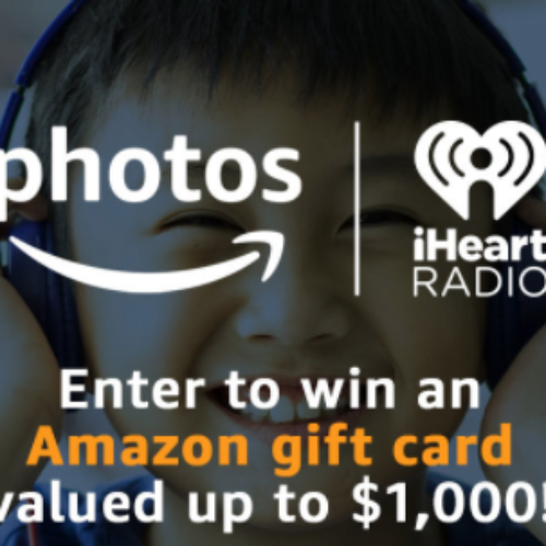 Win a $1K Amazon Gift Card from iHeartRadio