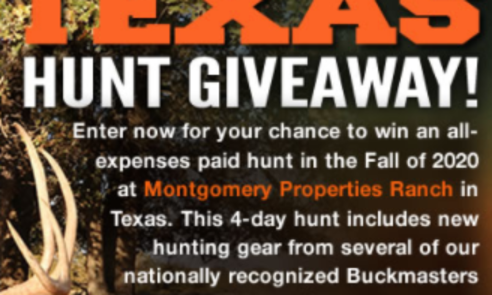 Win an All-Expenses Paid Hunt