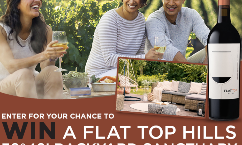 Win a Backyard Makeover from Flat Top Hills