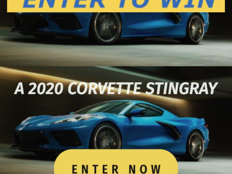 Win a 2020 Chevy Corvette Stingray from Michelin