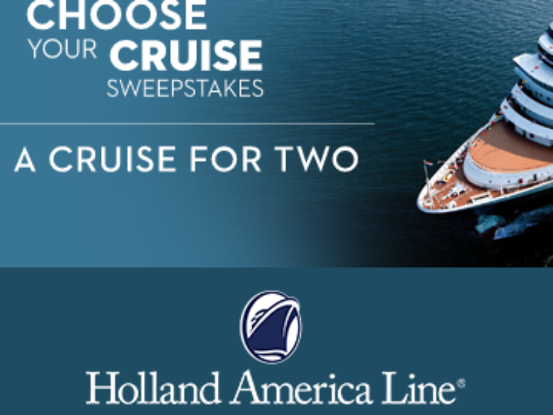 Win a 7-Day Cruise on Holland America
