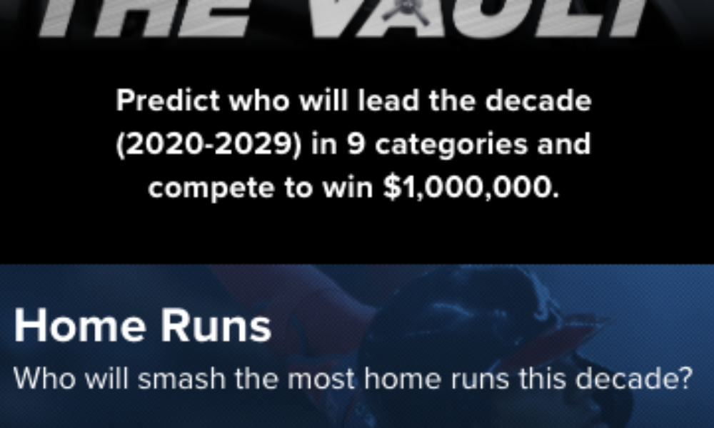 Win $1,000,000 from MLB