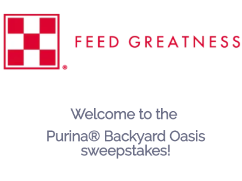 Win a $36K Backyard Makeover from Purina