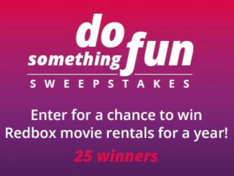 Win a Year of Redbox Movie Rentals from Valpak
