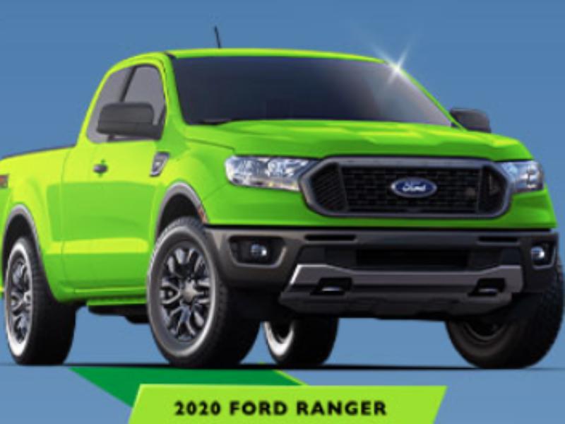 Win a 2020 Ford Ranger XL + $20K