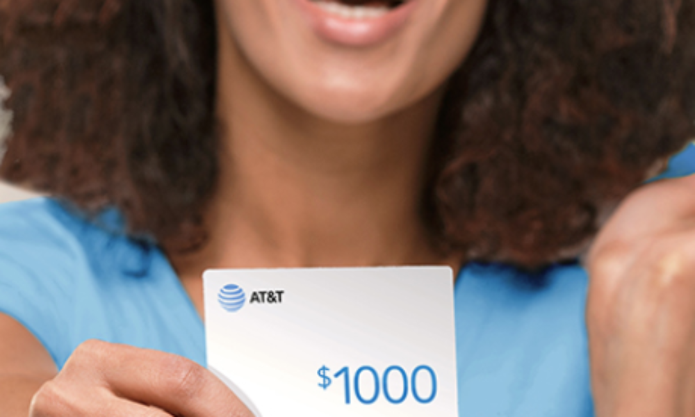 Win a $1K AT&T Rewards Card