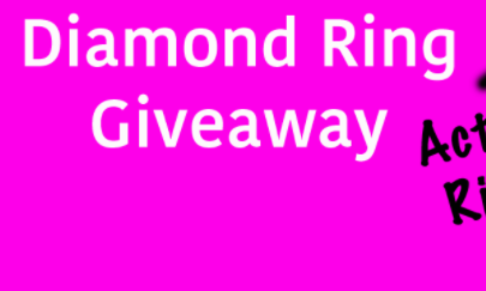 Win a Diamond Ring from Diamond Candles