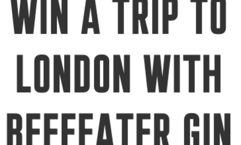 Win a Trip to London from Beefeater Gin