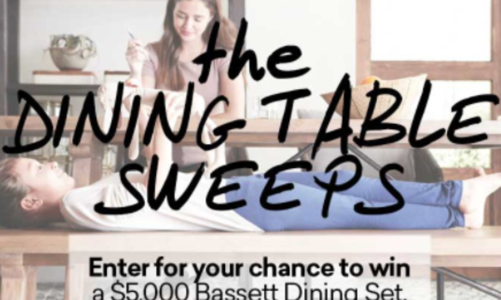 Win a $5K Bassett Dining Set