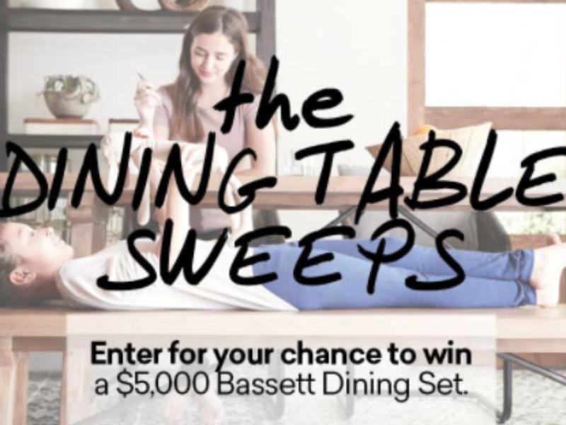 Win a $5K Bassett Dining Set