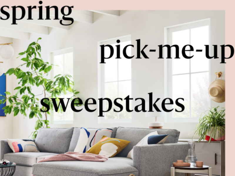 Win a $500 West Elm Gift Card