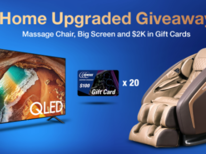 "Win a 65"" Samsung QLED 4K TV from Newegg"