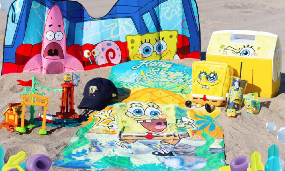 Win a Spongebob Summer Prize Package