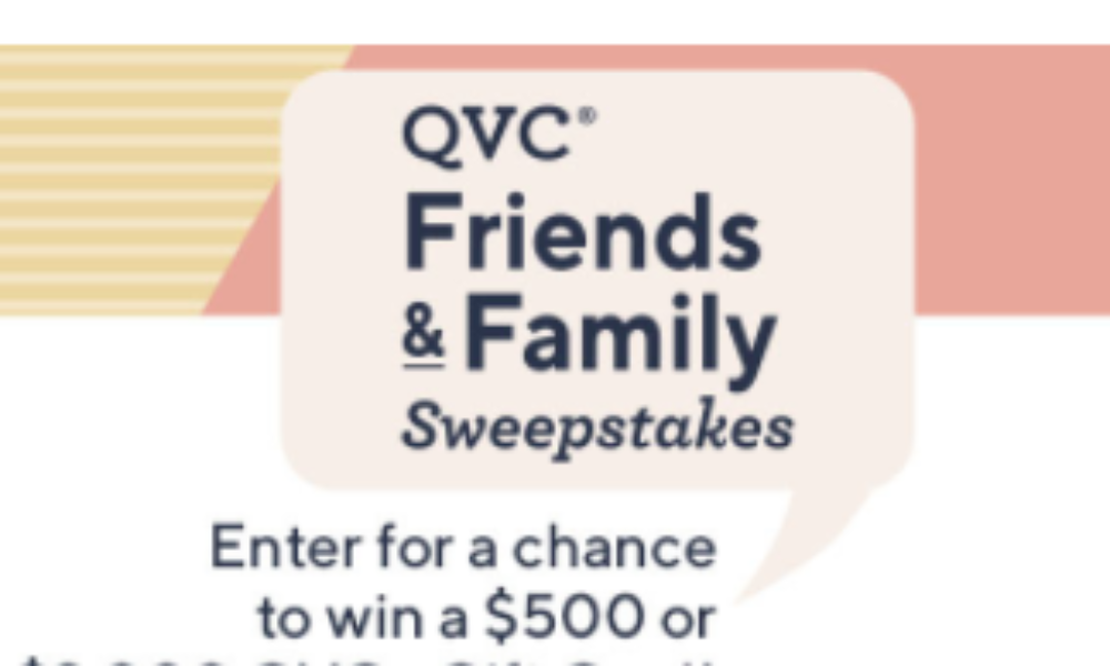 Win a $2K QVC eGift Card